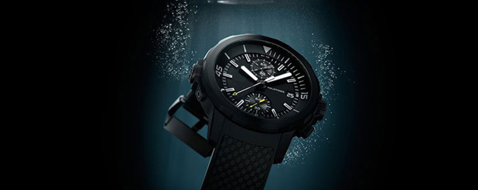 fake Swiss IWC Aquatimer Deep Three